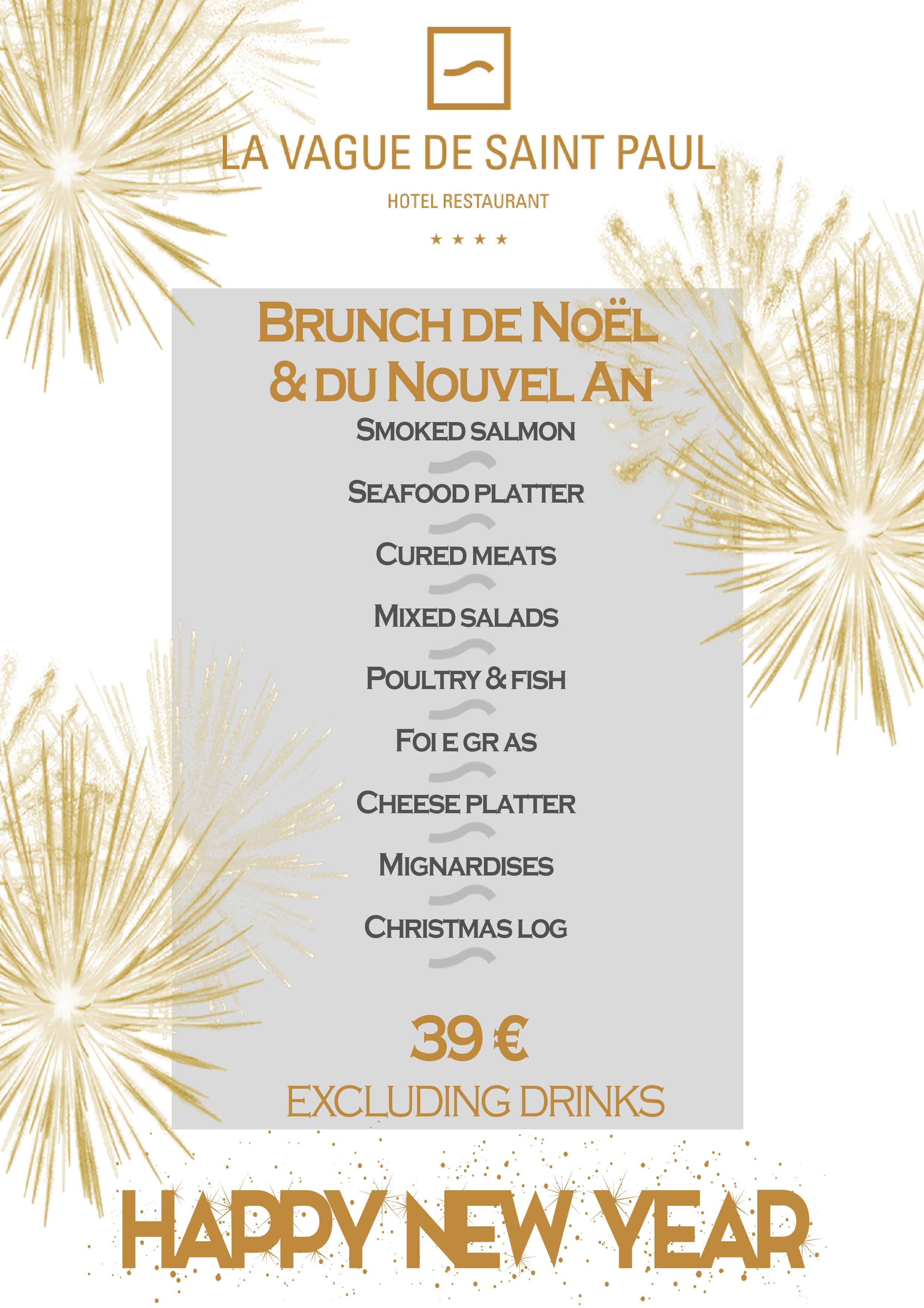 Christmas & New year\'s Eve - Hotel 4* La Vague de Saint Paul
