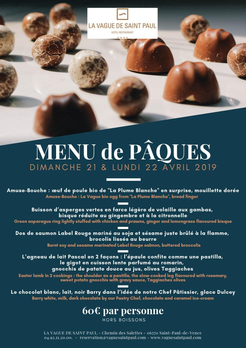 Restaurant in Saint Paul de Vence   Bistrot von La Vague