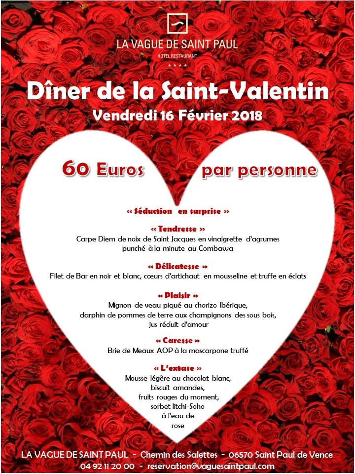 Saint Paul De Vence Restaurant Saint Valentin
