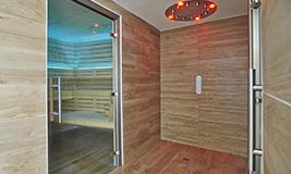 Sauna and Steam Room - Vague de St Paul