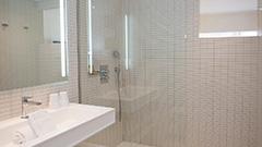 Badezimmers mit dusche Vague de Saint Paul