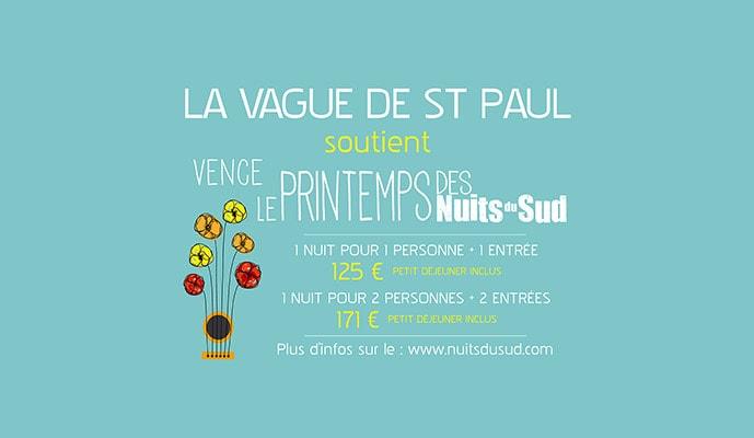 La Vague de Saint Paul <br>&#038; le Printemps des Nuits du Sud