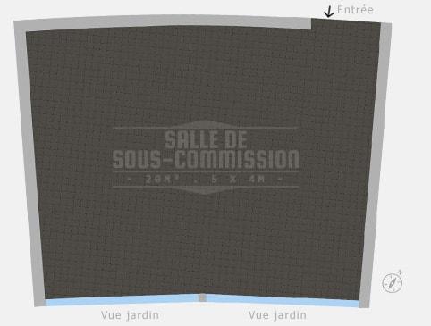 Plan salle Salle de Sous-Commission