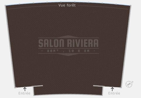 Plan salle Salon Riviera